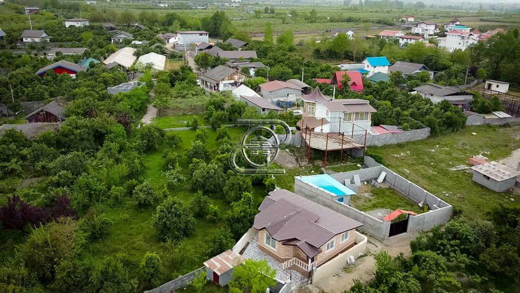 ویلا جنگلی در شمال شهرستان عباس آباد