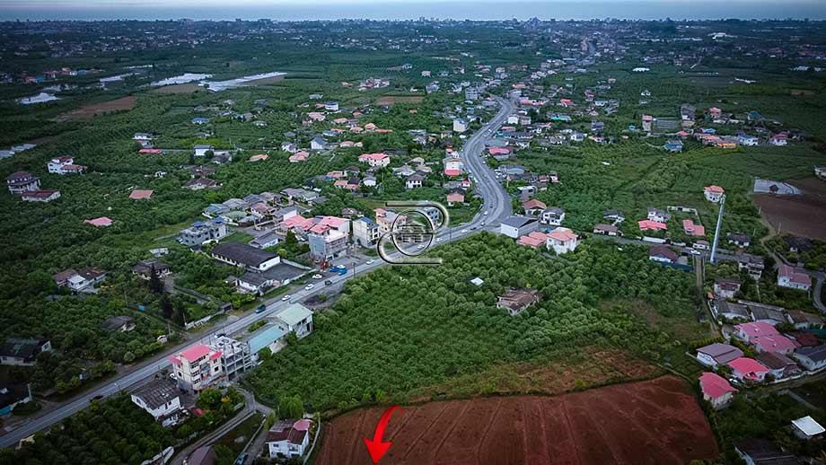 زمین روستایی در شمال شهر نشتارود