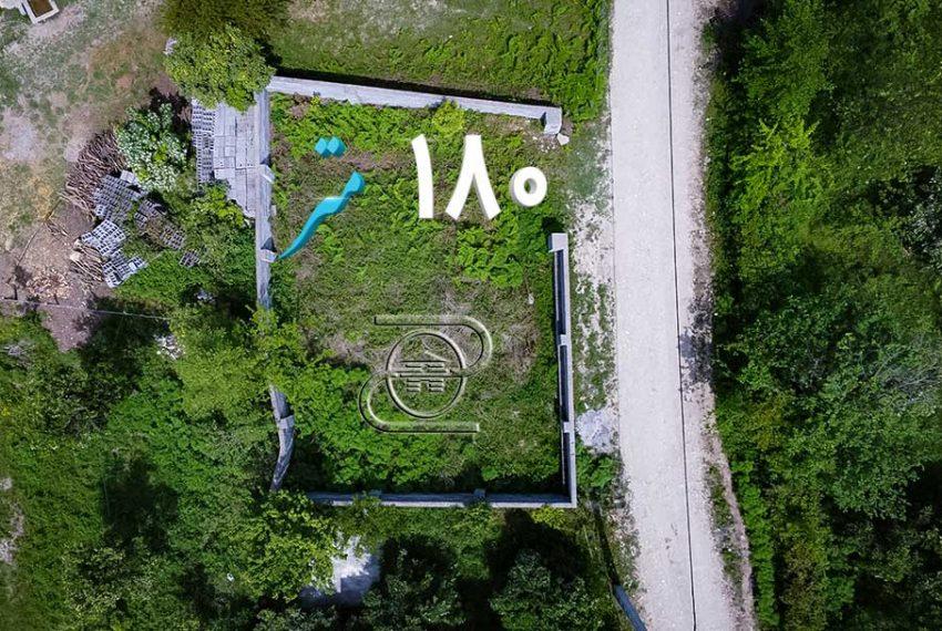 زمین روستایی ۲۰۰ متری