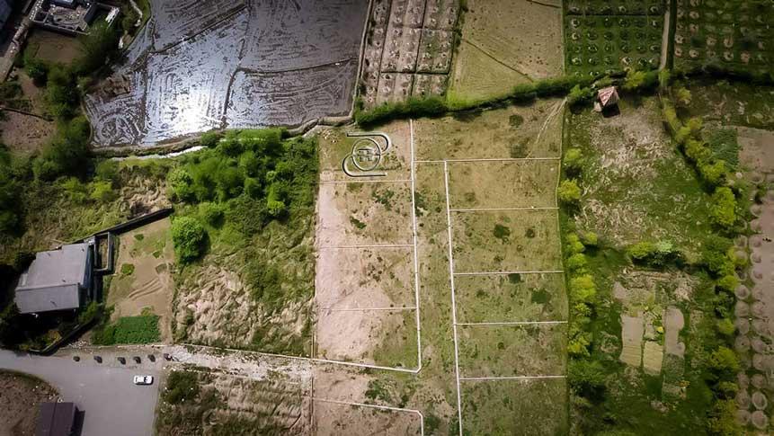 زمین کشاورزی در نشتارود