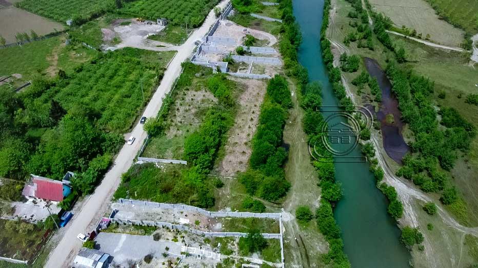 زمین چشمانداز عالی در عباس آباد